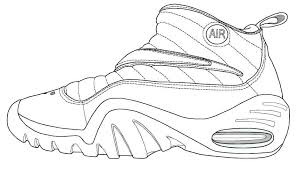 lebron shoes coloring pages 2429968