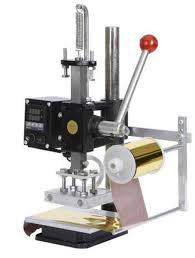 diy digital automatic flatbed hot foil printing stamping machine