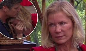 Katherine kelly lang (born katherine kelly wegeman; Katherine Kelly Lang Weeps As She Is Eliminated From I M A Celebrity Get Me Out Of Here Daily Mail Online
