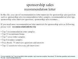 Cover Letter Sponsorship Sponsorship Cover Letter Awesome Collection Of Sponsor