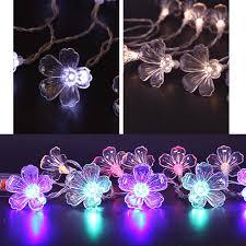 Fiber Optic Blossom Led String Lights Us 3 29 30 Off Led Fiber Optic Trumpet Flower Light Trumpet Lamp String Christmas Xmas Wedding Party Decor In Lighting Strings From Lights
