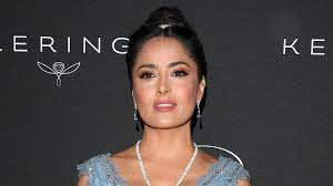salma hayek is seriously glowing in this makeup free video she posted to insram