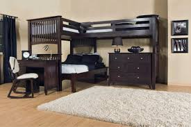 Awesome Bunk Beds Desk With Bed Top Creekside Stone Wash Twin Step Bunk Bed  Luxurious And