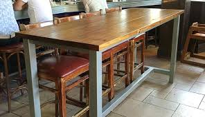 trestle design round outdoor tables table farmhouse cedar height bench ideas room chairs bar pub rustic rustic bench ideas large cedar