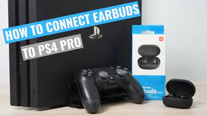 How to connect Earbuds to PS4 PRO. Xiaomi Redmi Airdots. - YouTube