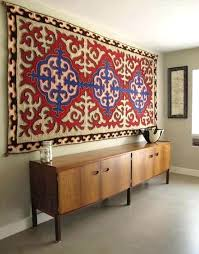 s how to hang a rug oriental on wall wll decorting