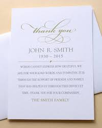 Thank You Sympathy Cards Simple Elegant Thank You Sympathy Cards Custom Flat Cards 3 1 2 X 4 7 8