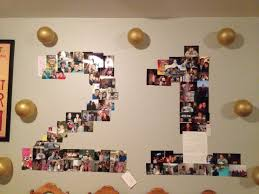 i made this photo collage for my husband s 21st birthday party