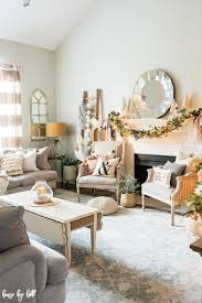 rose gold and pink holiday home decor