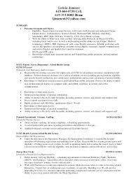 Patient Access Representative Resume