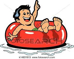 inner tube clipart. Fine Tube Clipart  Boy Floating Inner Tube Fotosearch Search Clip Art  Illustration Murals On Tube A
