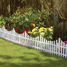 garden fence. Garden Fence Panels White Pack Of 6 On Sale | Fast Delivery Greenfingers.com D