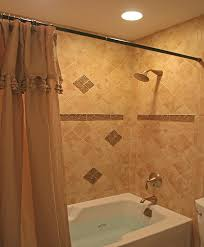 glass tile accent bathroom remodel burke fairfax
