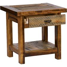 elegant large dining room tables rustic end table with drawer diy rustic rustic end tables remodel