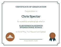 Free Homeschool Diploma Template School Diploma Template