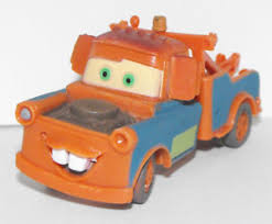 Mater Tow Truck Figurine 2.5 inch Cars Movie Toy Plastic Figure ...