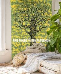 life tapestry wall hanging decor art