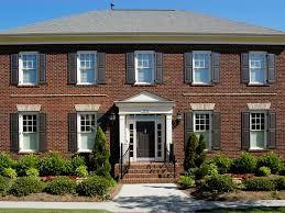 exterior colonial house design. Beautiful Brick Homes Exterior Colonial House Design F