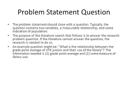 Research Problem Statement What Is Problem Statement In Research Paper Letter Template