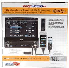 jensen vm9214 dvd receiver 7 touchscreen w bluetooth
