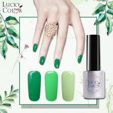 Vysoce Kvalitní Armádní Zelený Gel Na Nehty S Dlouhotrvajícím Namočením Uv Led Beauty Nail Art Tools 1 Láhev 10ml