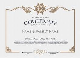 Corporate Certificate Template Delectable Vector Certificate Template Royalty Free Cliparts Vectors And