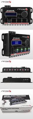 1000 ideas about car audio crossover car audio signal processors stetsom stx2448 dsp crossover and equalizer 4 way audio car audio sound processor