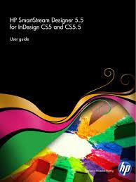 Hp Designer Hp Smartstream Designer 2 5 For Indesign Cs3 User Guide