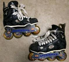 Mission Accelerator Youth Size 3d Roller Hockey Inline