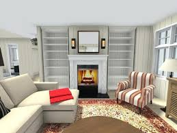 kids room wall decor wallpaper living ideas magnificent fireplace built in bookcase feature with