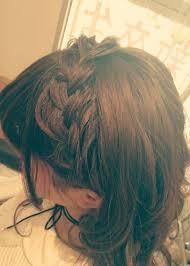 編み込みカチューシャfunic Style G所属tadoタドウのヘアカタログ