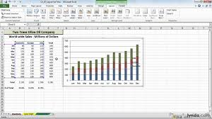 excel office adding editing and removing legends lynda com you