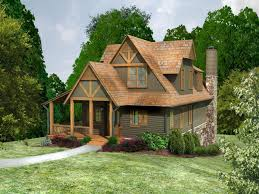 diy house plans. Rustic Cabin With Gabled Roof Diy House Plans
