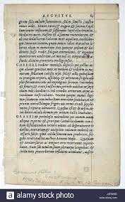 Twelve Caesars Suetonius Lives Of The Twelve Caesars 1540 Stock Photo 140491021