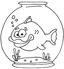 Small Picture Fish bowl coloring pages clipart ClipartBarn