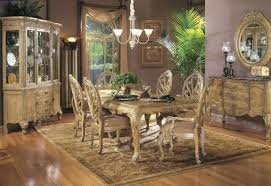 ... Dining Room Decoration With Aico Dining Table : Heavenly Image Of Dining  Room Decoration Using Light ...