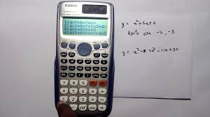roots of quadratic and cubic equations on casio fx 991 es plus in hindi