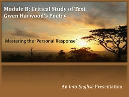 gwen harwood poetry mastering the personal response by into gwen harwood poetry mastering the personal response by into english issuu