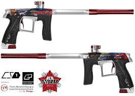 Cool Paintball Gun Designs Paintball Gun Design Trevis Meseroll Designs