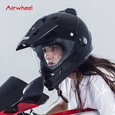 airwheel c8 unique motorcycle helmet with dot support wifi view