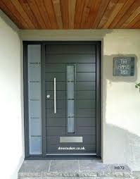 modern front doors. Contemporary Exterior Front Doors Oak And Other Woods Bespoke Modern . D