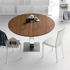 Contemporary Kitchen Tables Round Regarding Modern Dining Table