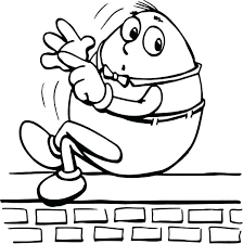 humpty dumpty coloring pages coloring page nursery rhyme coloring free humpty dumpty coloring sheets