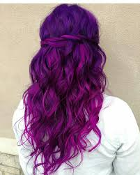 Purple Hair Style Lovely Purple Dyed Hair Pinterest Purple Hair Coloring And 6515 by wearticles.com