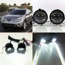 2011 Nissan Murano Fog Light Assembly July King 1600lm 24w 6000k Led Light Guide Q5 Lens Fog Lamp