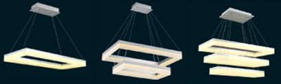 for restaurant foyer bedroom dinning living room modern square chandelier led pendant lamp hanging light fixture