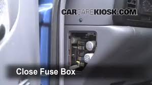 interior fuse box location 1994 2002 dodge ram 2500 1997 dodge secure the cover and test component