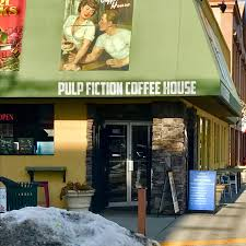 See 125 unbiased reviews of pulp fiction coffee house, rated 5 of 5 on tripadvisor and ranked #25 of 469 restaurants in kelowna. Pulp Fiction Coffee House Okanagan Valley Vagabonds