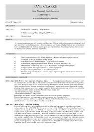 Hospitality CV templates  free downloadable  hotel receptionist     happytom co