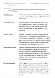 Free Progress Note Template Soap Note Template 9 Free Word Pdf Format Download Social Work